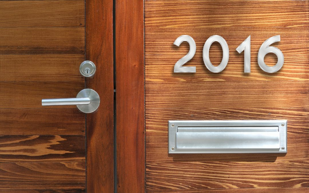 5 Trends that will Shape Real Estate in 2016