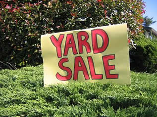 Yard Sales on the North Fork